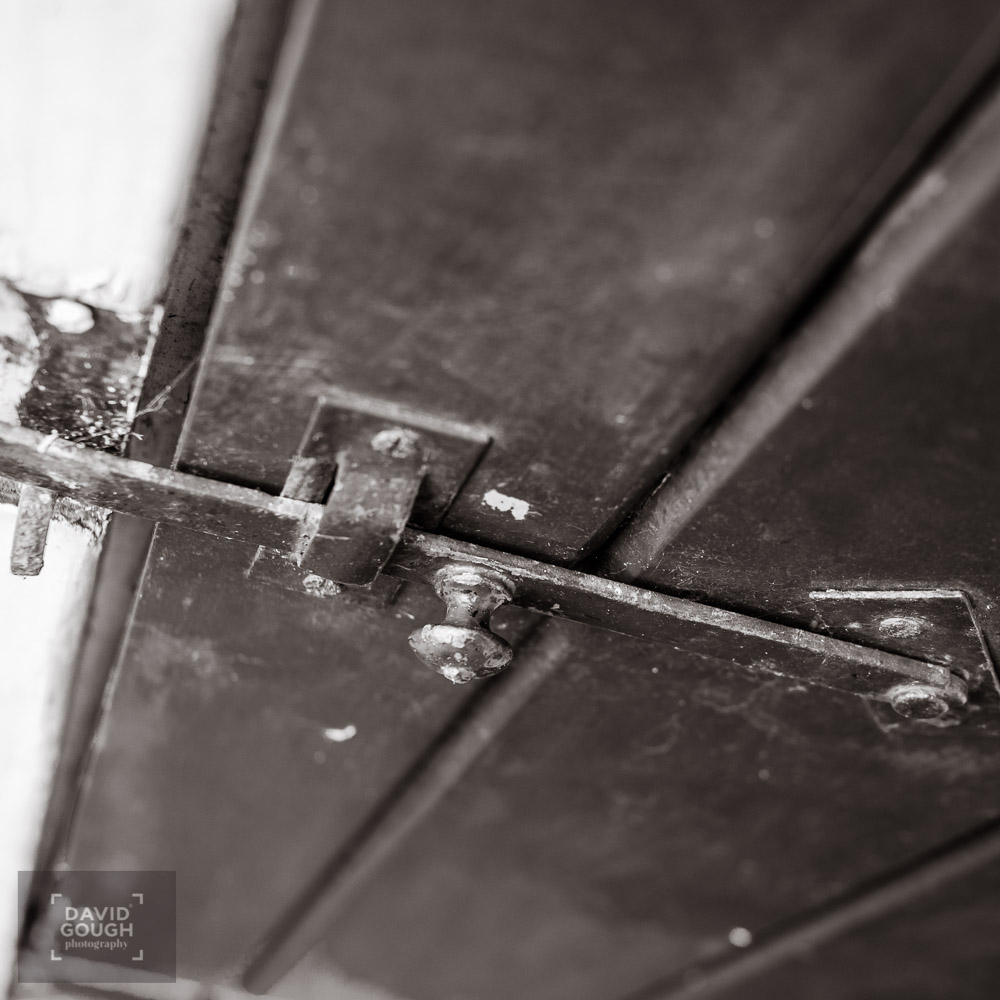 Detail of simple latch